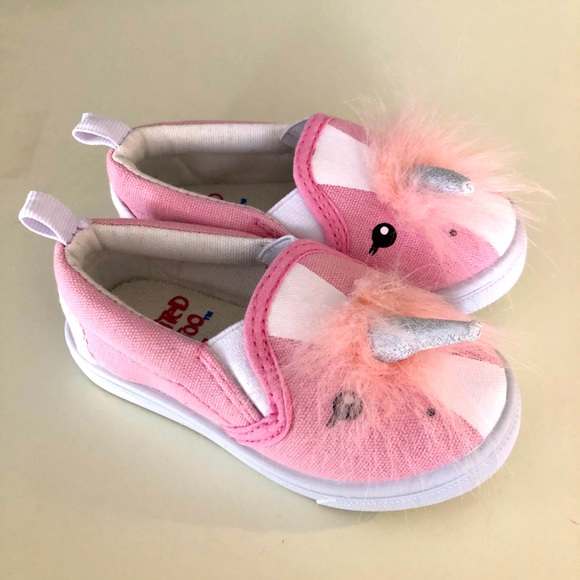 Limited Too Toddler Unicorn Shoes Size
